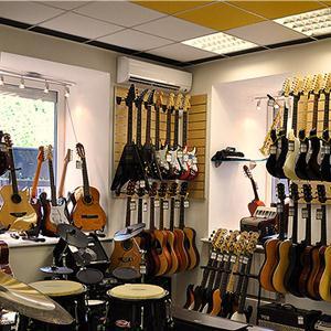 Музыкальные магазины Пограничного